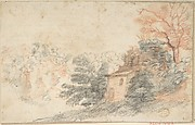 Landscape with House and Trees