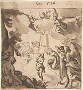 The Baptism of Christ (recto); The Baptism of Christ (verso)