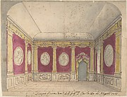 Design of a Room of the Infante Don Carlo, King of Naples