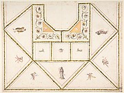 Design for a Ceiling in Pompeian Style