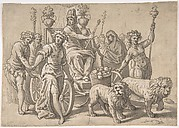 The Triumph of Cybele, after Paolo Fiammingo's 'Triumph of Earth'
