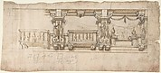 Ornamental Design for a Loggia or Frieze (?)