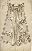 Design for the Ornamentation of a Section of a Ceiling