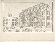 View of the Borsa, Rome