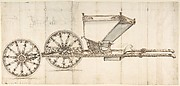 Design for a Carriage (Chaise Italienne?)