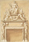 Design for a Mantlepiece