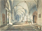 Cloisters in a Nunnery