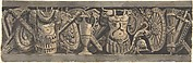 Design for a Frieze with Roman Trophies