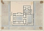 Plan of a Greek House