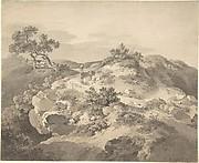 Landscape in Saxony
