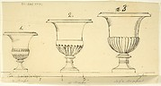 Sketch of Three Vases