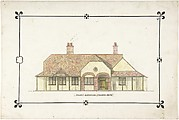 Bungalow drawing -- Front Elevation