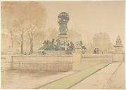 Fontaine de l'Observatoire, Jardins du Luxembourg, Paris