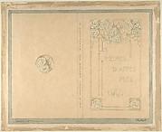 """Design for """"Les Heures d'Après Midi"""" by Emile Verhaeren"""