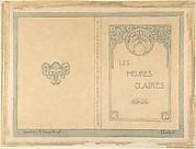 "Design for ""Les Heures Claires""  by Emile Verhaeren"