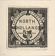 "Catalogue Cover of the ""North Holland Etchings"""