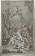 The Conversion of St. Paul (recto); The Execution of the Prisoner (verso)