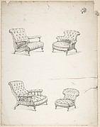 Designs for Four Upholstered Chairs