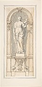 Classical Niche with Figure of a Woman