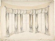 Design for Curtains for Three Windows