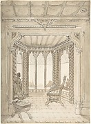 Design for a Gothic Interior