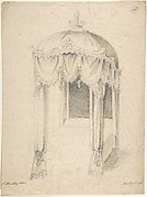 Design for a Bed with Canopy