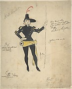 Costume Drawing for Little John
