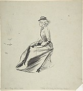 Study of a Lady in a Riding Habit