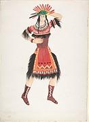 Costume design for Native American female