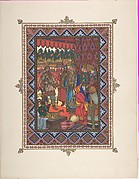 """Illustration for """"Maria Morevna"""" [Tsarevich Ivan meets Tsarevna Maria]"""