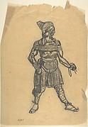 Russian male dancer costume