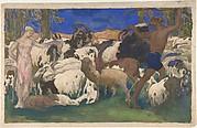 The Shepherds, Daphnis and Chloe