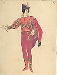 Costume Design for Male Dancer