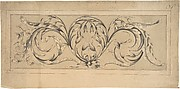 Design for Frieze of Foliage