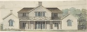 Design for a Cottage Ornée in the Tudoresque Style