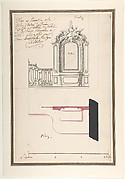 Design for an Altar and Choir Grill, Abbey at Rebais