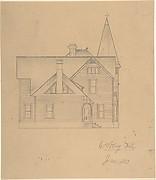 Design for a House, Side Elevation
