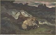 Bear Killing a Bull