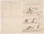 Illustrated letter to M. Roland