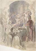 "Scene from ""My Aunt Margaret's Mirror"" (Keepsake Story by Sir Walter Scott)"