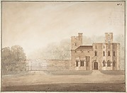 Design for Bishopsgate Lodge, at Windsor Castle, Berkshire