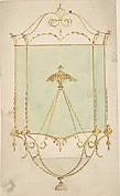 Design for a Hall Lantern, Elevation