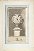 "Study for Plate 7 of Bouchardon's ""Second livre de vases"""