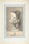 """Study for Plate 7 of Bouchardon's """"Premier livre de vases"""""""