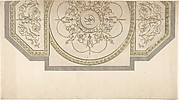 Design for the Gallery ceiling, Richmond House, Whitehall, London