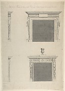 Designs for Two Chimney-pieces in Lord Viscount Charlemont's Casino at Marino, Dublin