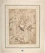 Figure Studies for a Judgment Scene