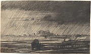 Landscape in a Storm