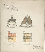 Cottage at Littleton for B.M. Chamber Esq.
