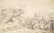 Landscape with Oxen and Felled Tree